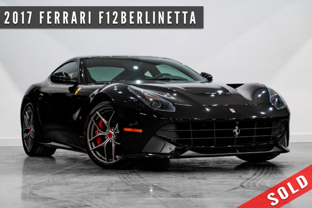 2017 Ferrari F12berlinetta Sold By August Motorcars