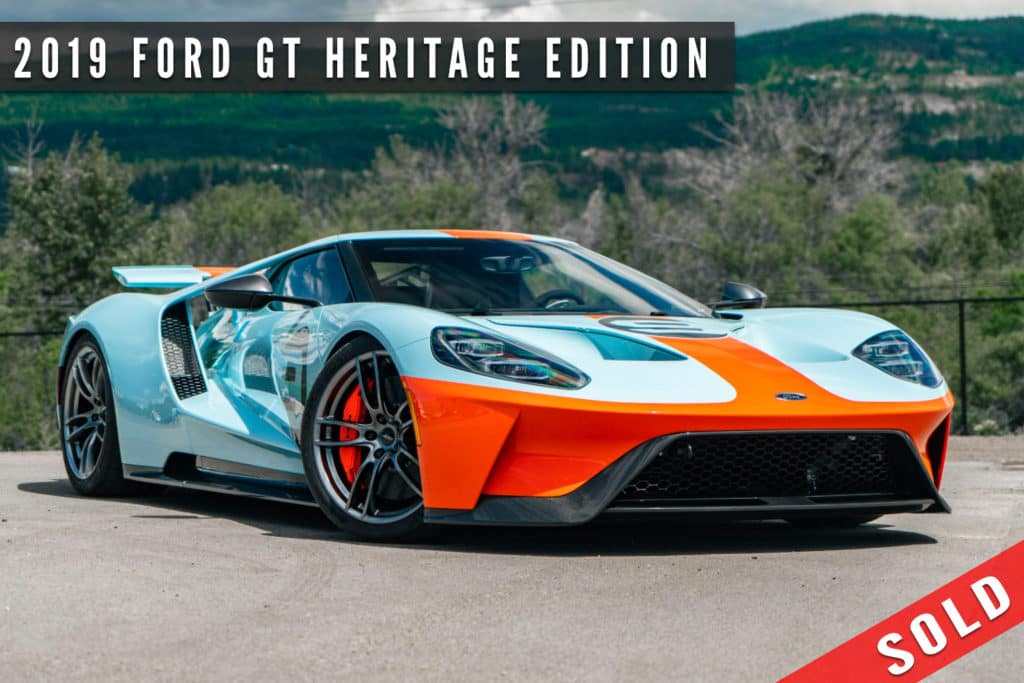 2019 Ford GT Heritage Edition Sold By August Motorcars