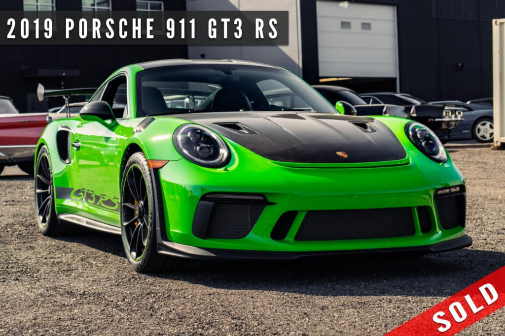 2019 Porsche 911 GT3 RS Sold By August Motorcars