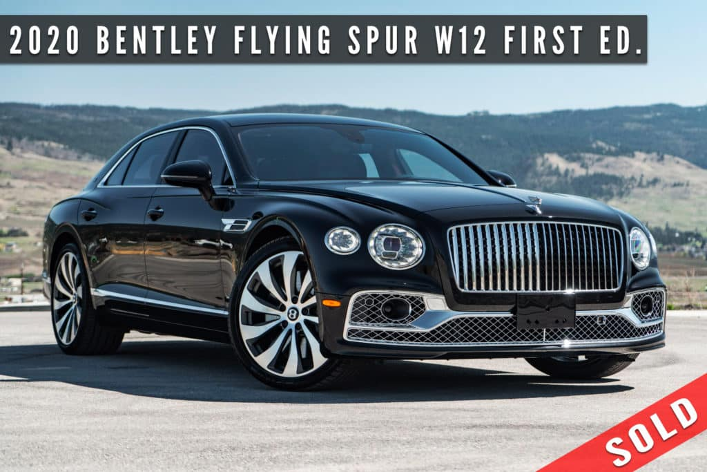 2020 Bentley Flying Spur W12 First Edition Sold By August Motorcars