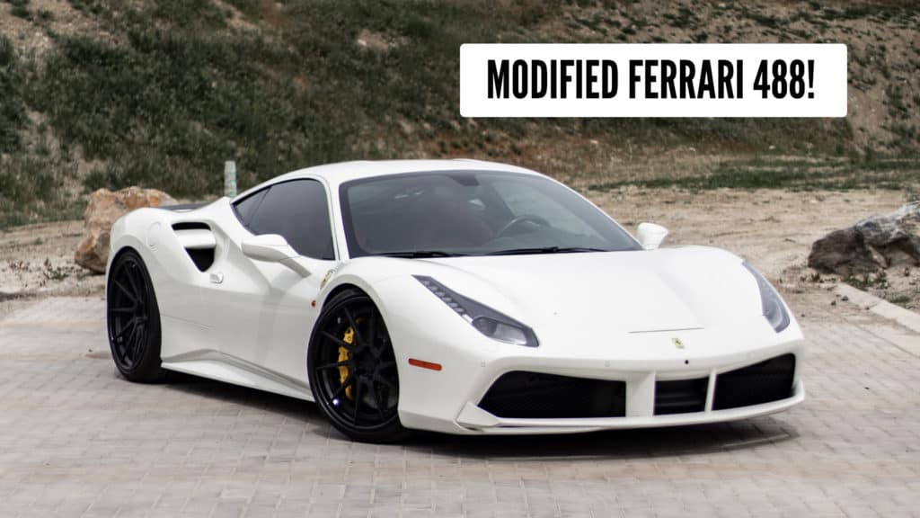 Modified Ferrari 488 For Sale at August Motorcars