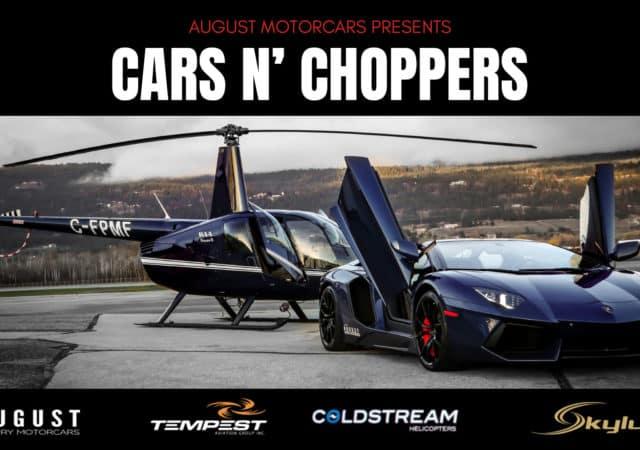 Cars N' Choppers at August Motorcars