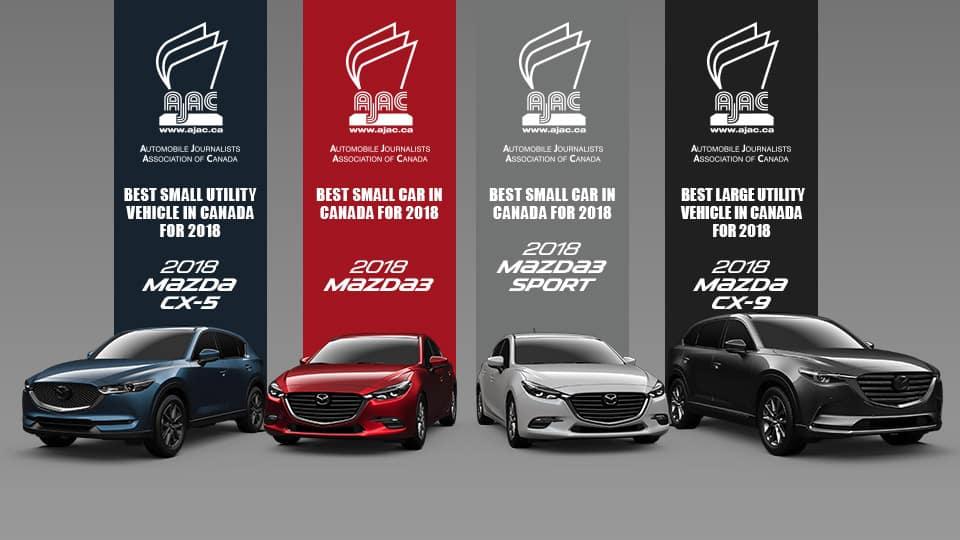 2018 Mazda AJAC Awards
