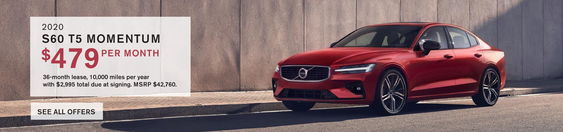 Autobahn Volvo Fort Worth | 2020 S60 Lease Special