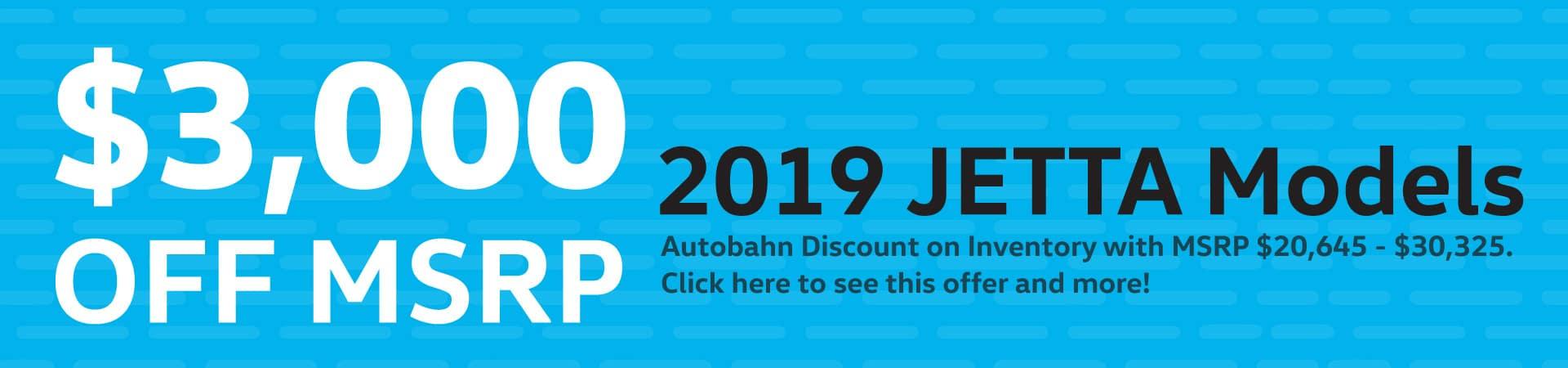 Autobahn Volkswagen | Jetta OFF MSRP Special