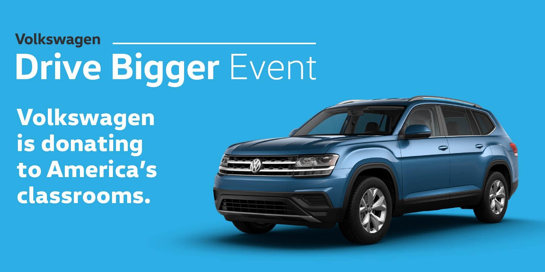 Autobahn Volkswagen | Drive Bigger Sales Event