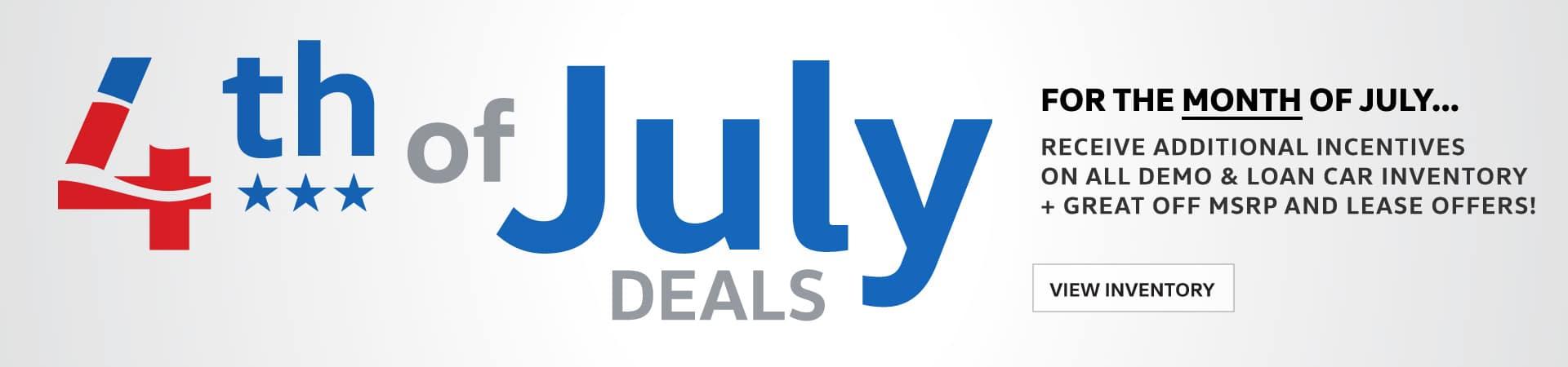 Autobahn Volkswagen | JULY Sales Specials
