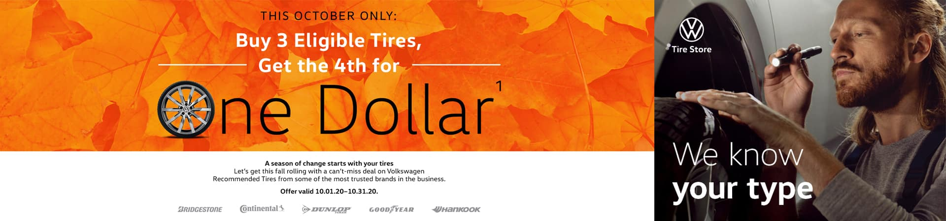 VW Tire Offer