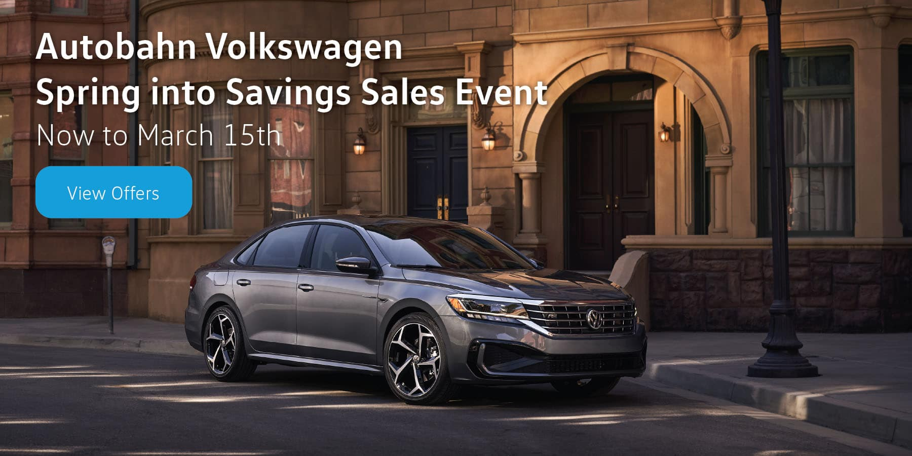 Autobahn VW Spring into Savings Sales Event