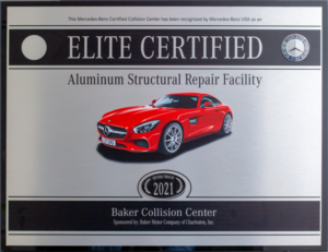Mercedes-Benz Elite Certified Aluminum Structural Repair Facility