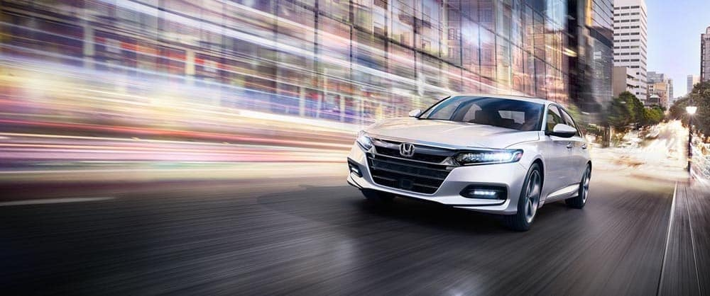 2018 Honda Accord Driving Through the City