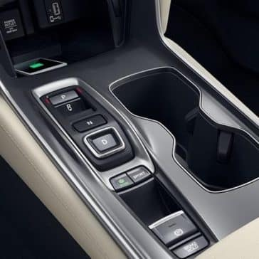 2018 Honda Accord Transmission Buttons and Cup Holders