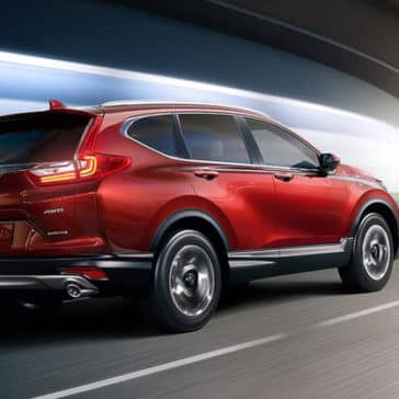 2018 Honda CR-V Driving