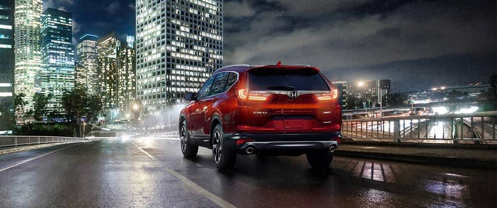 2018 Honda CR-V Driving Into the City