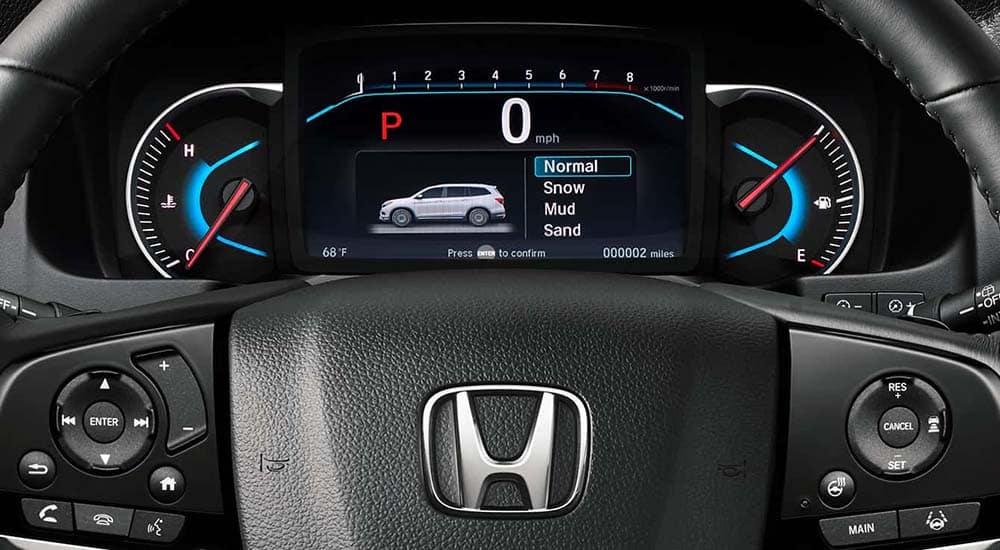 2019 Honda Pilot Drivers Display