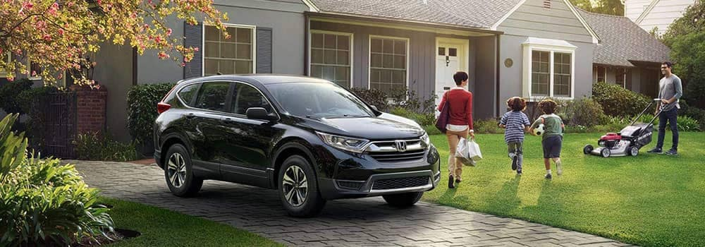 2018 Honda CR-V Parked Outside Home
