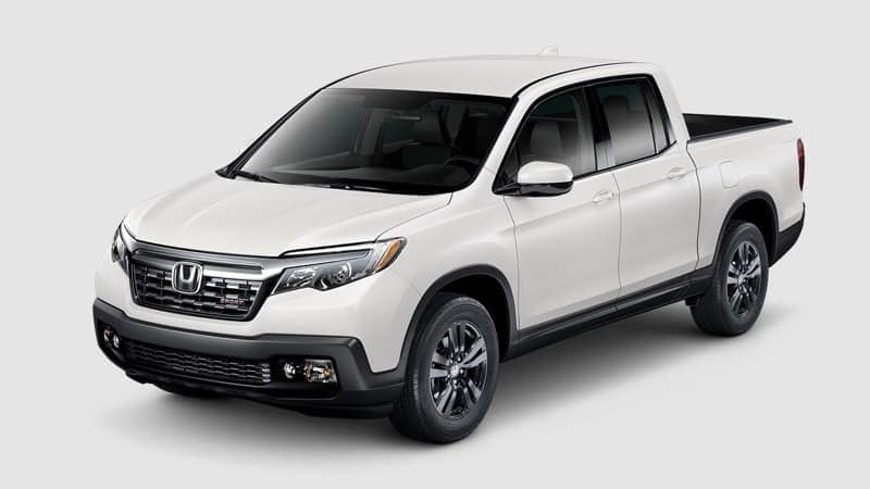 2019 Honda Ridgeline with AWD