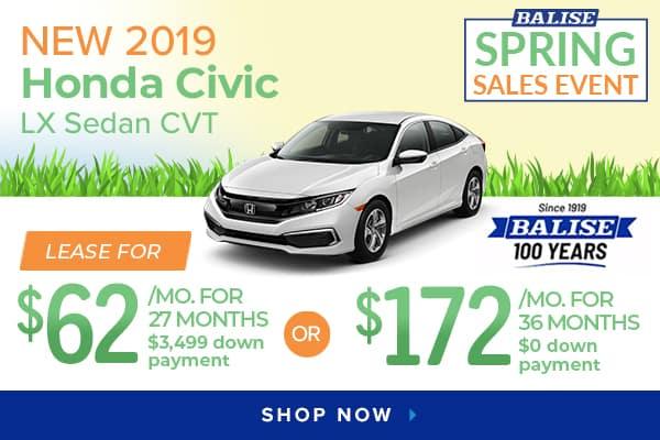 New Honda Specials At Balise Honda Of West Warwick Balise Honda Of