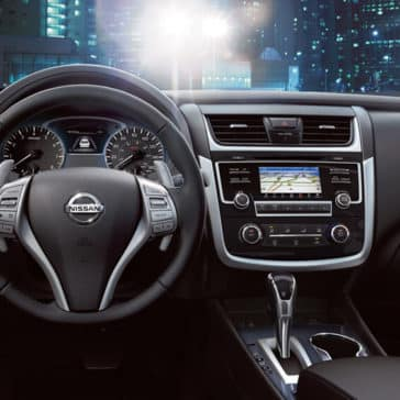 2018 Nissan Altima Dashboard Dashboard Features