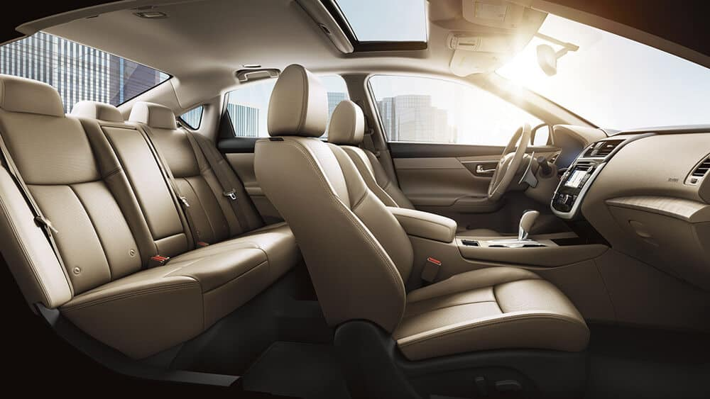 2018 Nissan Altima Interior Seating