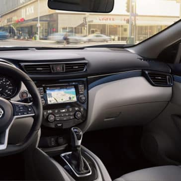 2018.5 Nissan Rogue Interior Features