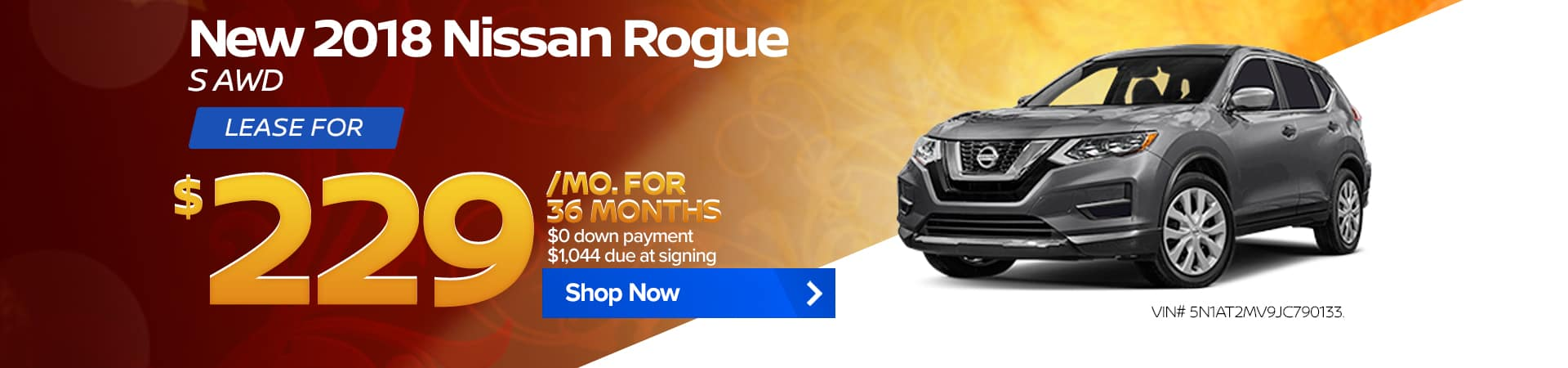 September special for the 2018 Nissan Rogue