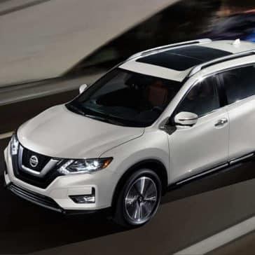 2019 Nissan Rogue Driving
