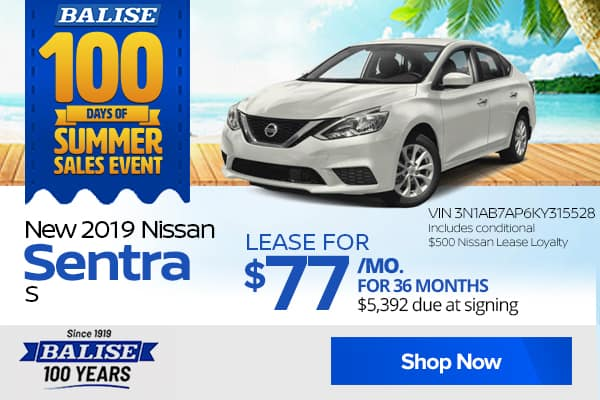New Nissan specials in Warwick | Balise Nissan of Warwick