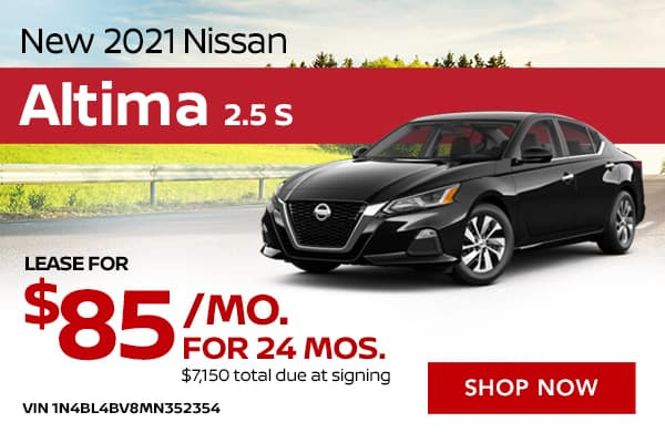 New 2021 Nissan Altima 2.5 S
