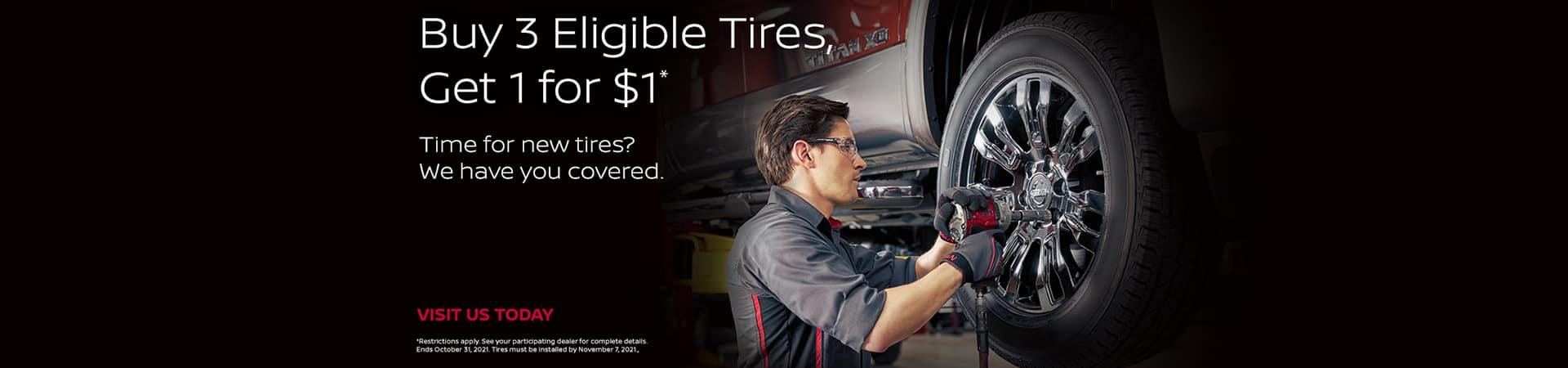 August September October Nissan Tires Special