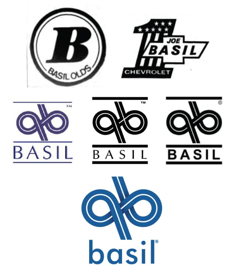 Basil Resale Transit >> Basil's Logo Evolution | Basil Family Dealerships