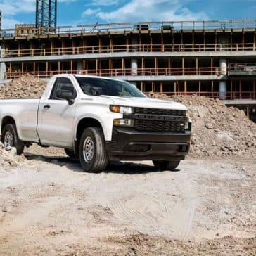 2019 Chevy Silverado 1500 At Jobsite