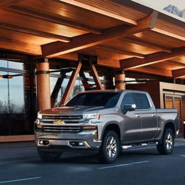 2019 Chevy Silverado 1500 Parked