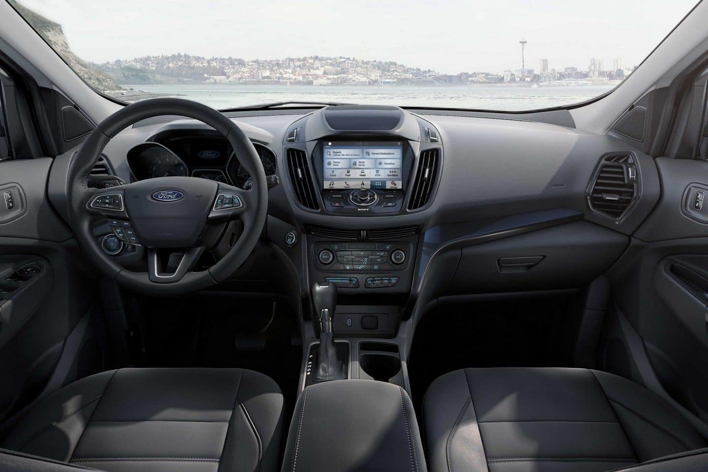 2019 Ford Escape Dash