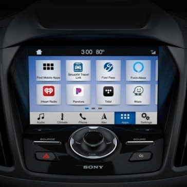 2019 Ford Escape Touchscreen