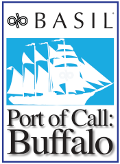 Basil Port of Call Buffalo logo