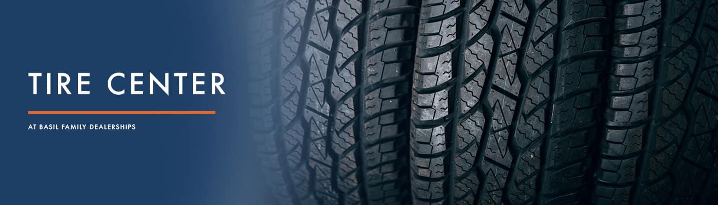 Vehicles Tire Center in Buffalo, NY at Basil Auto Group