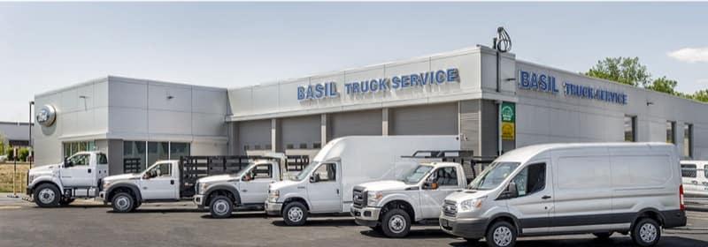 Joe Basil Ford Commercial Dealership