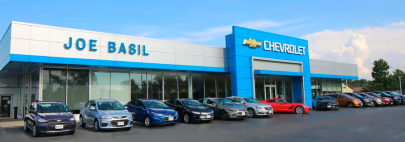 Joe Basil Chevrolet Dealership