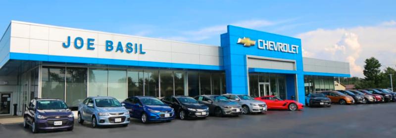 Joe Basil Chevrolet Dealership