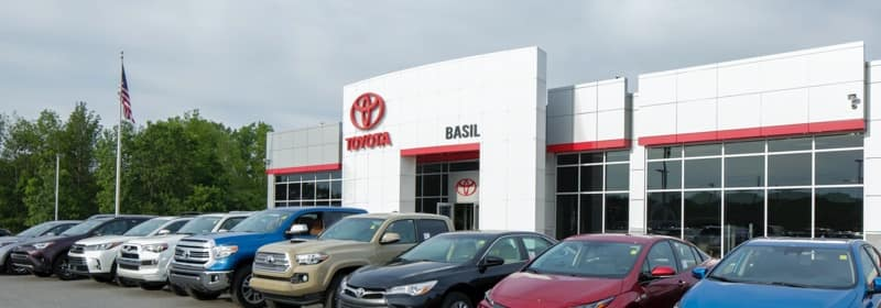 Basil Toyota Dealership