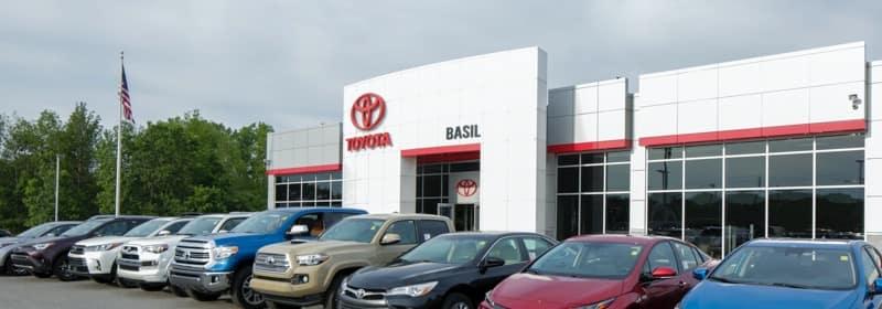 Basil Toyota Dealership