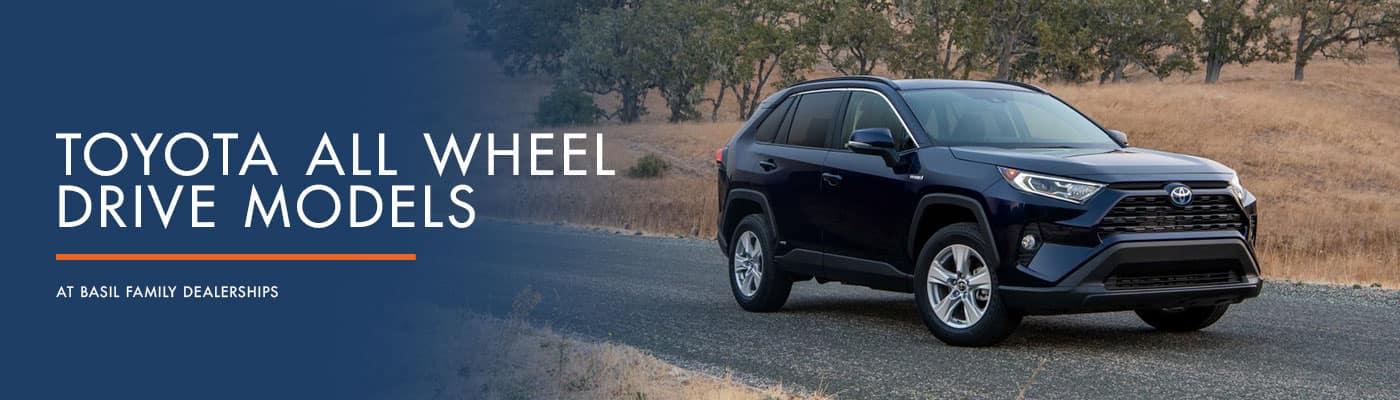 Toyota All Wheel Drive Models