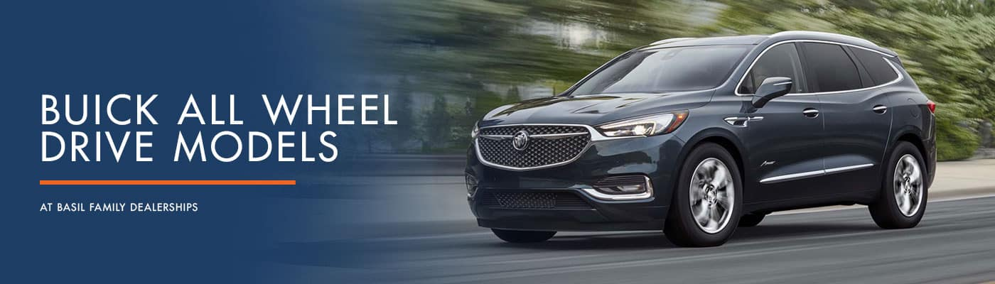 Buick All Wheel Drive Models