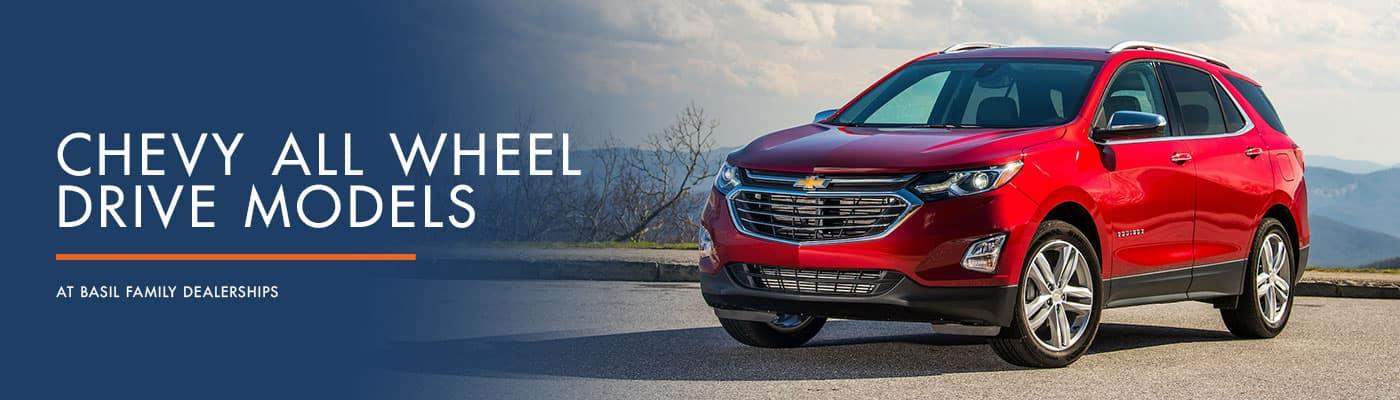 Chevrolet All Wheel Drive Models
