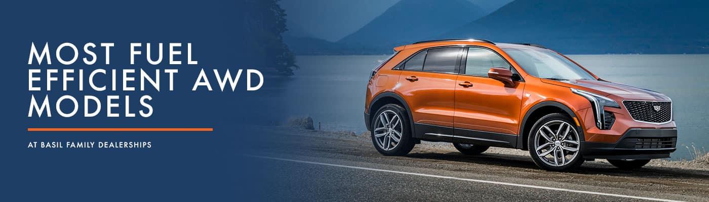 Most Fuel-Efficient AWD Models