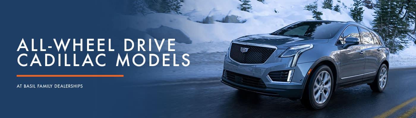 Cadillac All Wheel Drive Models