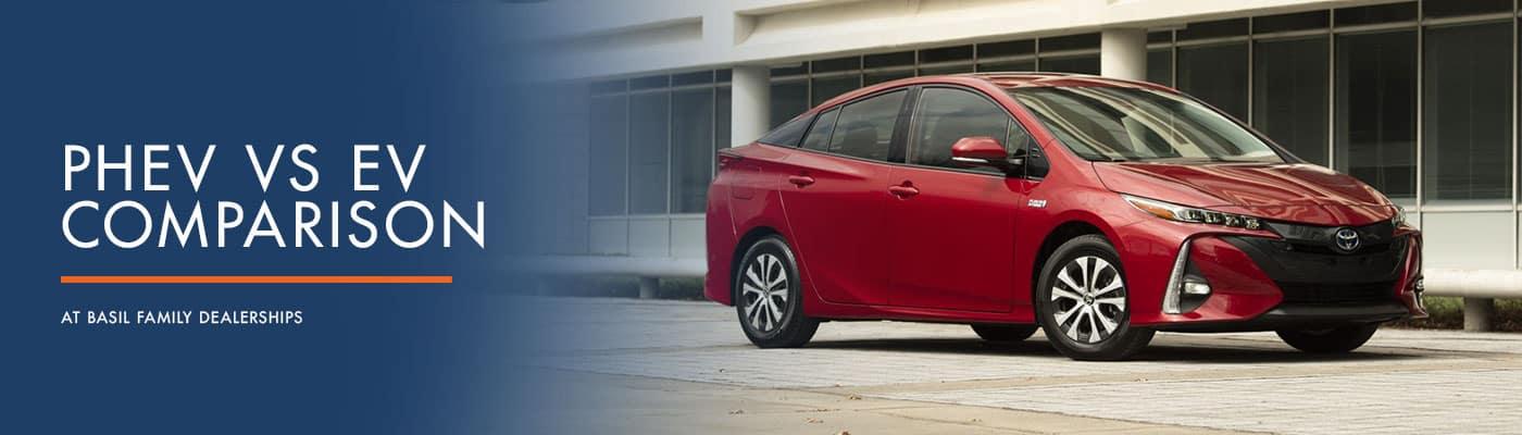 Plug-In Hybrid vs Pure Electric Comparison at Basil Cars