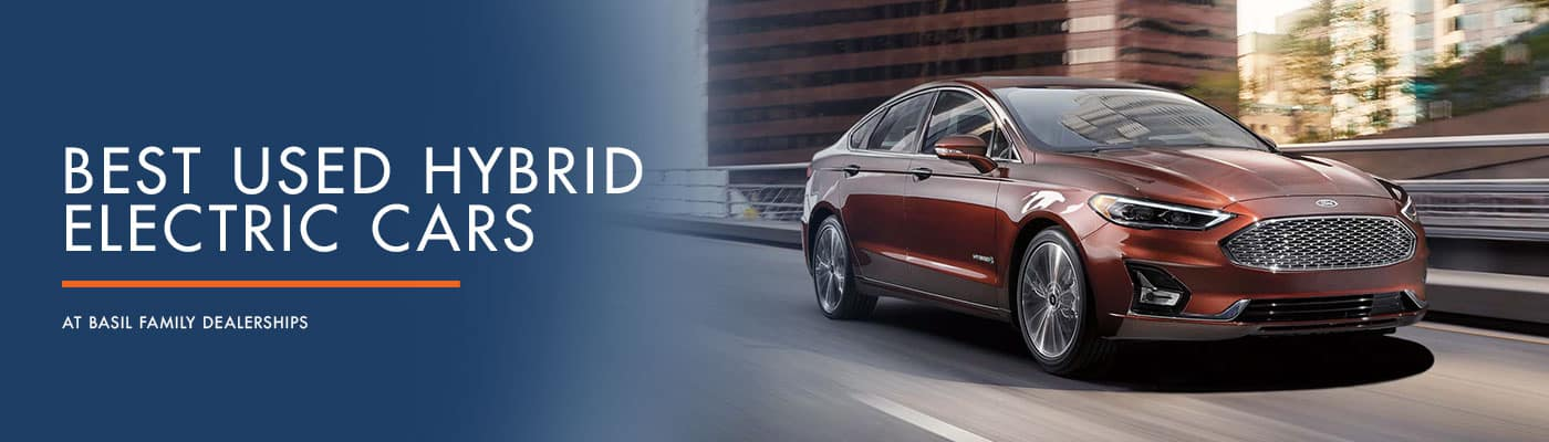 Compare Our Best Used Hybrid Cars