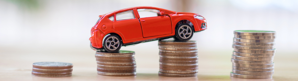 Financing (toy car on quarters)